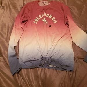 Abercrombie kids long sleeved shirt 13/14